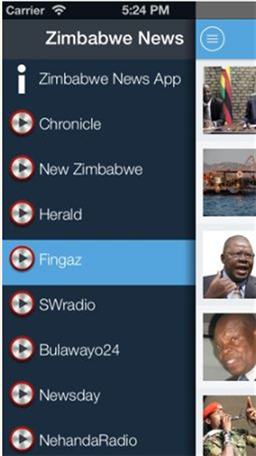 Zimbabwe News App